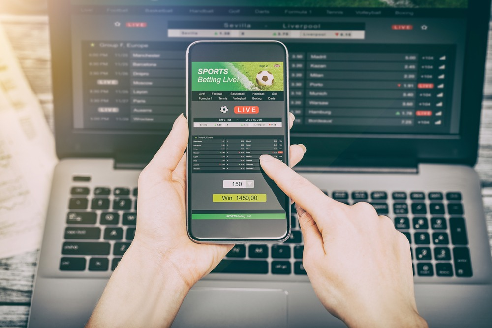 An image of someone gambling, Cyber Hero provides support and advice when it comes to gambling online.