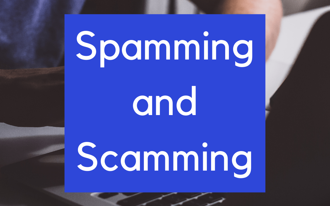 Online Spam: Things to look out for